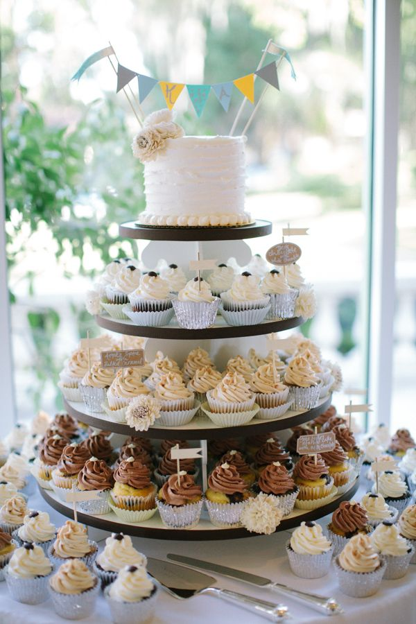 cup cake wedding cakes