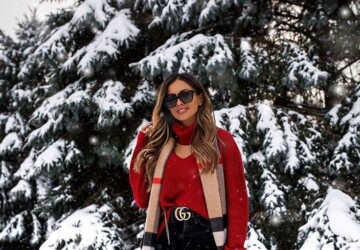 Cute Outfits You Can Actually Wear in the Snow (Part 1) - winter outfit ideas, snow outfit ideas, snow day outfit ideas, snow