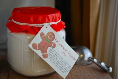Gingerbread Buttermilk Pancake Mix In A Jar