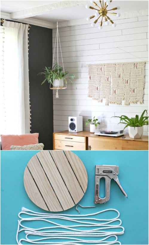 Spring Projects: 15 Easy DIY Hanging Planters