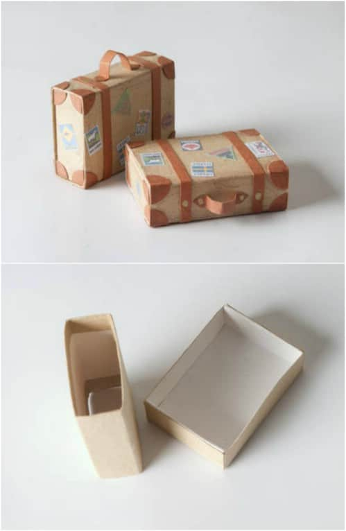 Cute Little Matchbox Suitcases