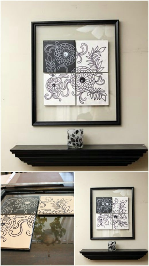 Gorgeous DIY Tile Art