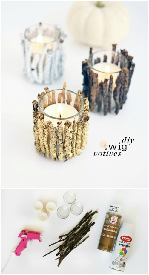 Twiggy Votives