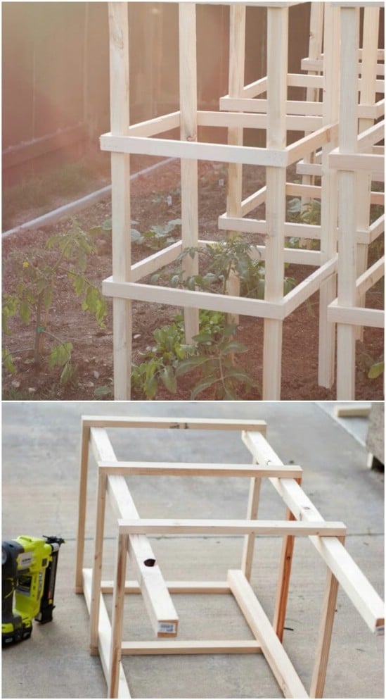 Cheap Wooden Tomato Cage