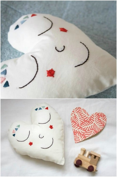 Valentine Heart Embroidery Pattern