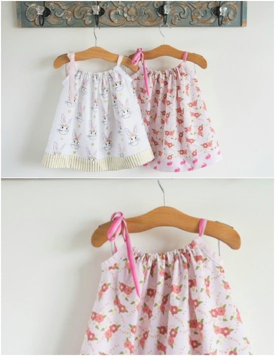 Adorable DIY Pillowcase Dress