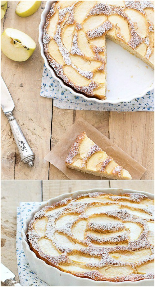 Low Fat Healthy Apple Cake