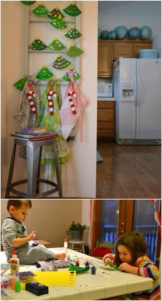 Paper Plate Christmas Tree Garland – Kids Craft!