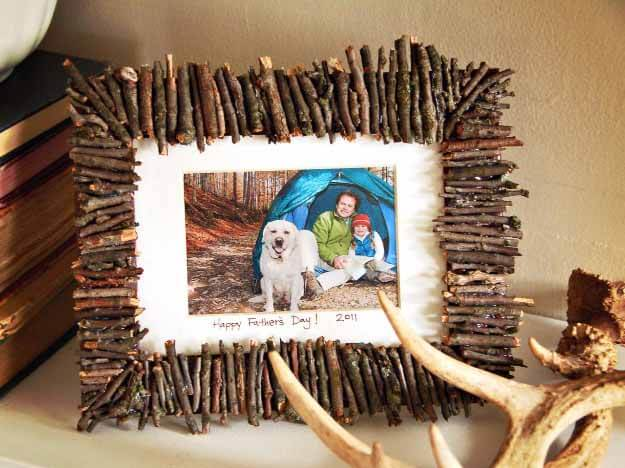Display Nature Photos With a Twig Frame