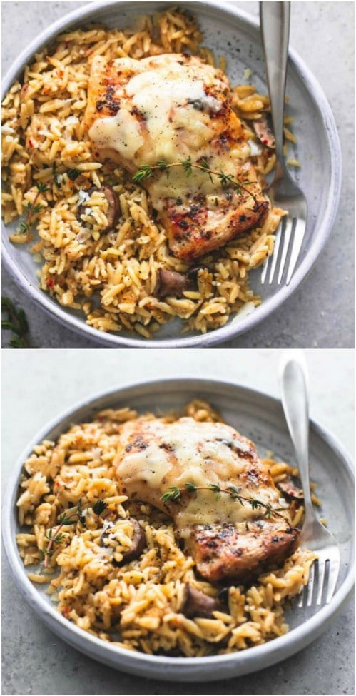 Herb Chicken With Orzo