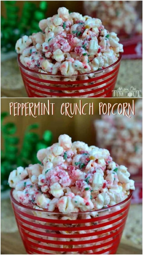 Holiday Favorite – Peppermint Crunch Popcorn