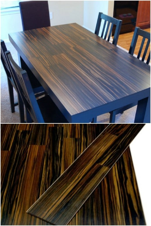 DIY Laminate Dining Room Table
