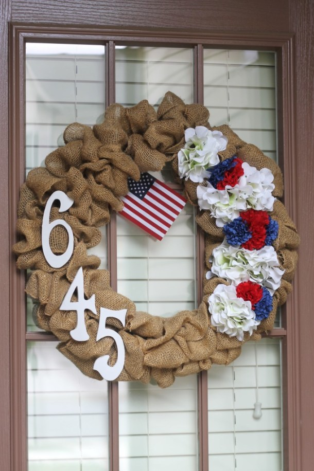 15 Amazing 4th of July Wreath Ideas (Part 2) - 4th of July Wreath Ideas, 4th of July Wreath, 4th of July diy wreath