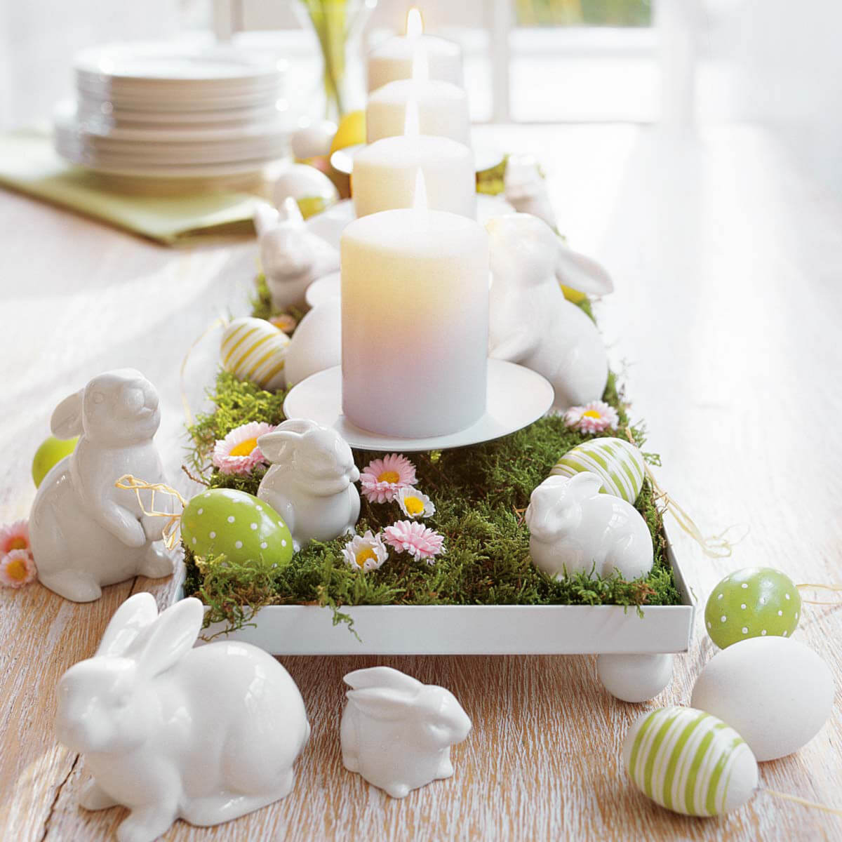 """""""At The Eater Bunny Hop"""" Centerpiece"""