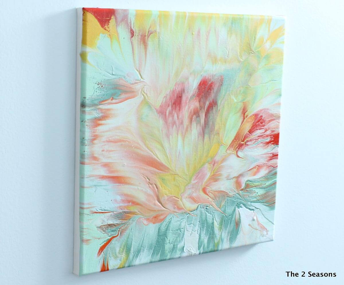 Super Simple DIY Abstract Paintings