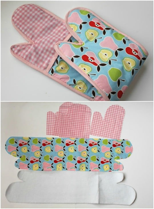 Simple To Sew Double Oven Mitt