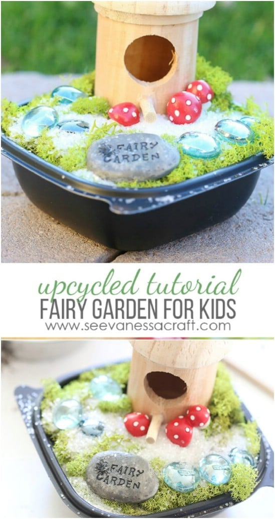 DIY Kid's Fairy Garden