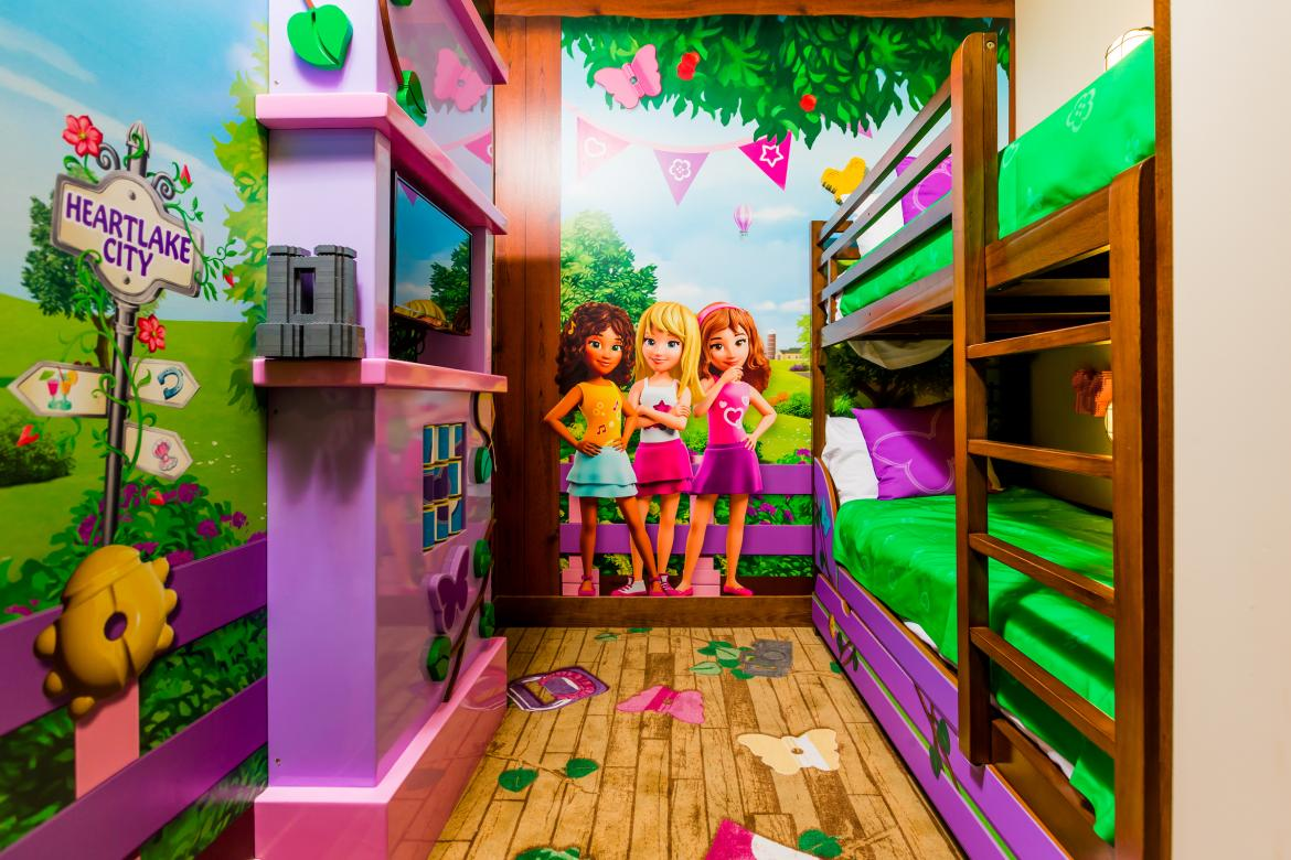 A Girly Bedroom Inspired By LEGO