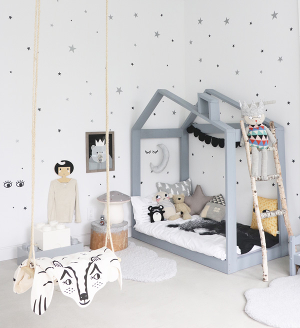 Monochrome Musings from a Magical Room