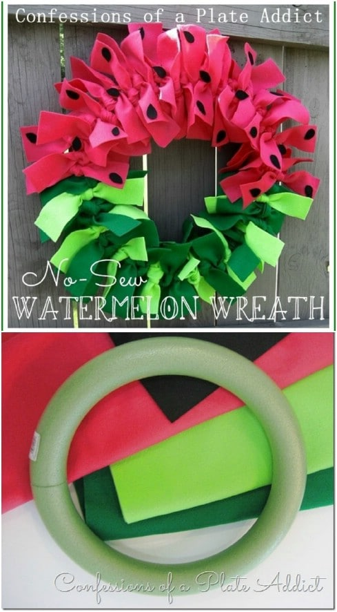 Welcome Summer: 18 Creative and Easy DIY Wreath Ideas