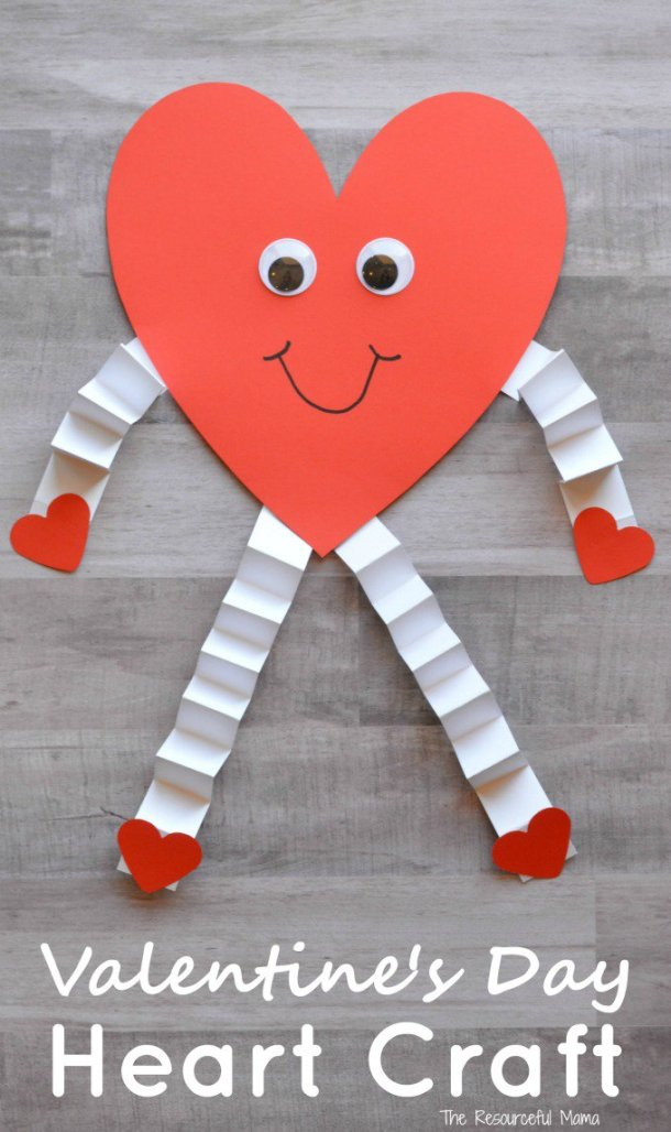 15 Easy Valentines Day Crafts for Kids (Part 1)
