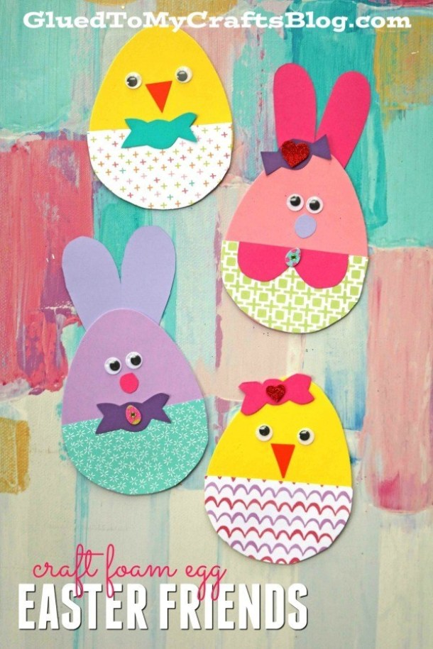 15 Cute and Fun Easter Crafts for Kids (Part 3) - Easter Crafts for Kids, Easter Crafts for Kid, Easter crafts, DIY Easter Decor Projects, DIY Easter Carrot Decorations, diy Easter