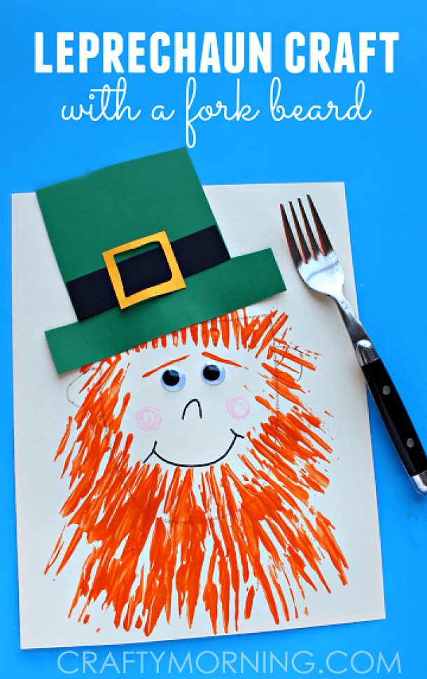 Easy St. Patricks Day Leprechaun Crafts for Kids (Part 1)