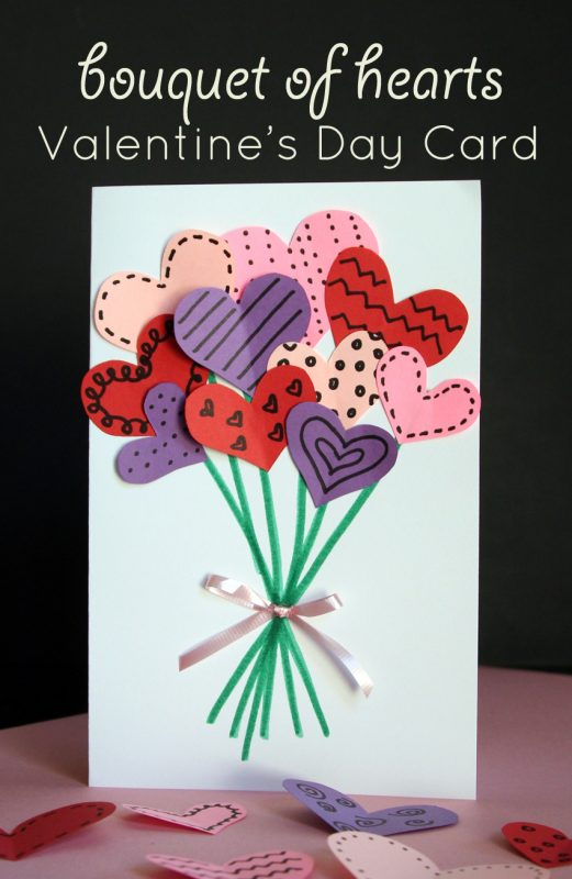 15 Easy Valentine's Day Crafts for Kids (Part 1) - Valentine's Day Crafts for Kids, valentine's day crafts, DIY Valentine's Day Crafts for Kids