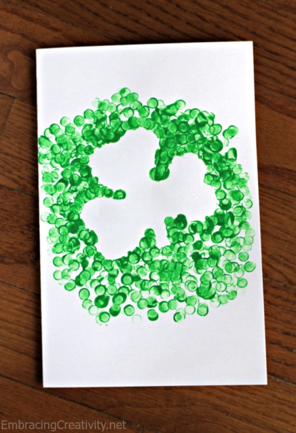 Lucky Shamrock Crafts for Kids to Make this St. Patricks Day (Part 2)