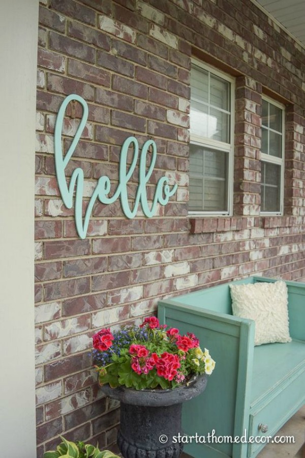 Best Spring Porch Decorating Ideas - Spring Porch Decorating Ideas, spring porch decor, Spring Porch, bright colors porch