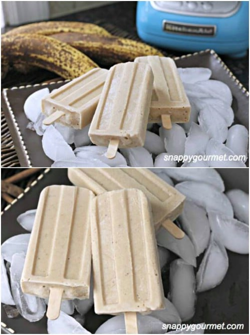 New Orleans Bananas Foster Pops