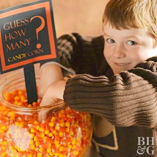 Count The Candy Corn Game