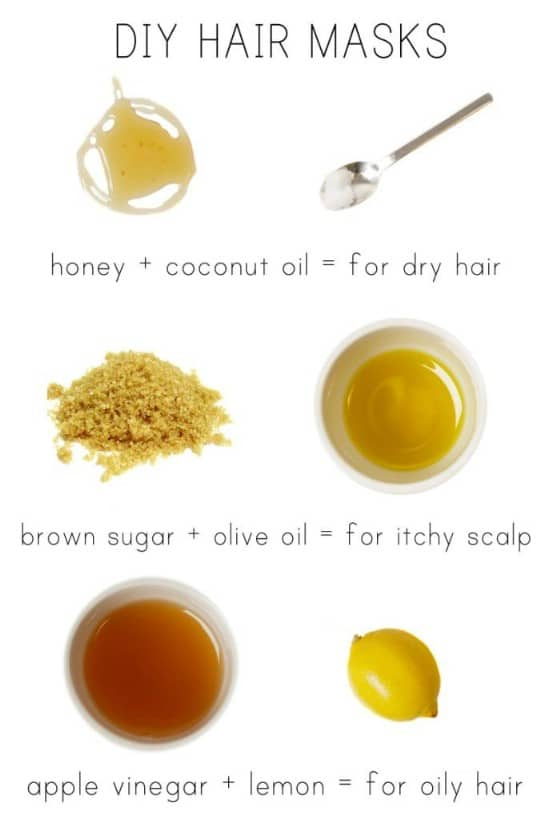 10 Homemade Hair Masks for Beautiful Hair