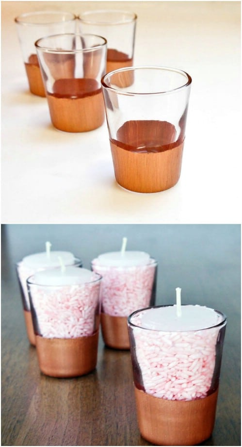 Dipped Shot Glasses