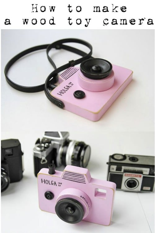 DIY Wooden Toy Camera
