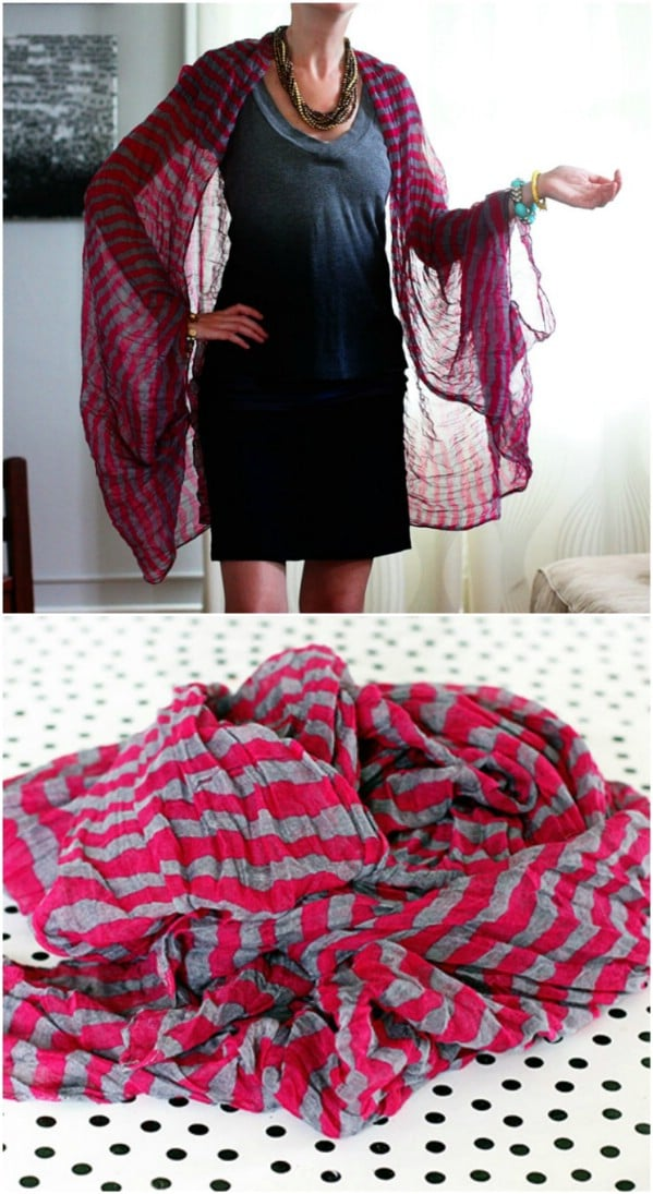 DIY Scarf Ideas: 15 New Uses for Old Scarves