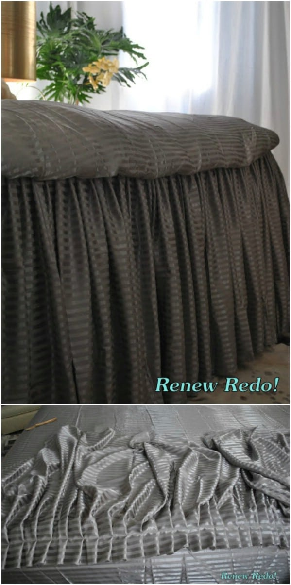 Sheet Ruffles From Old Sheets