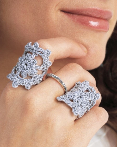 Crochet yourself a ring