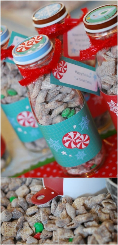 Reindeer Food Jars