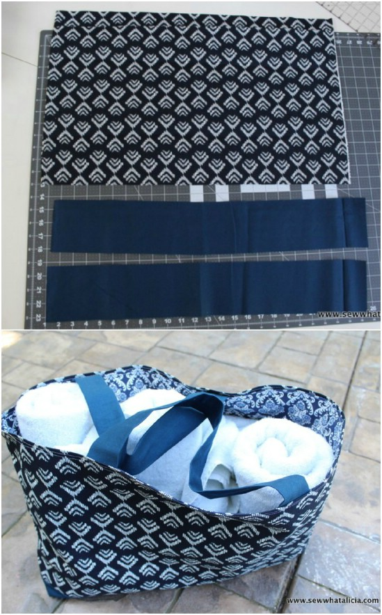 Quick And Easy DIY Summer Tote