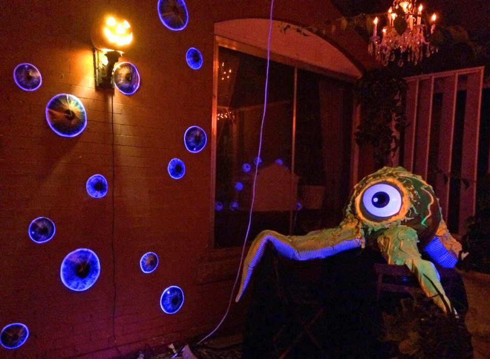 Monsters Inc. Take Off | Scary DIY Halloween Porch Decoration Ideas | vintage halloween porch