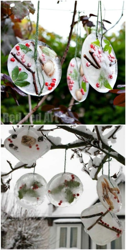 Crafty Ice Ornaments