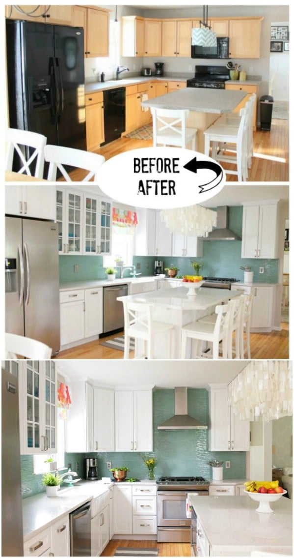 17 Inspiring DIY Kitchen Remodeling Ideas