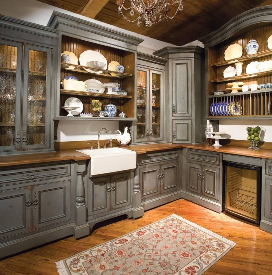 Country Style: 13 Rustic Kitchen Design Ideas