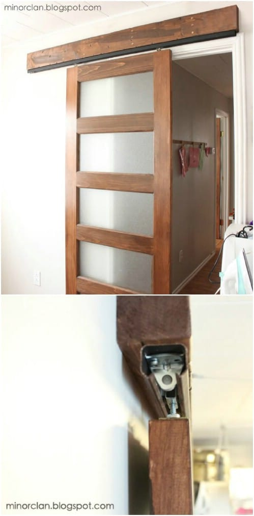 Here's Another Inexpensive Way to Install a Sliding Barn Door
