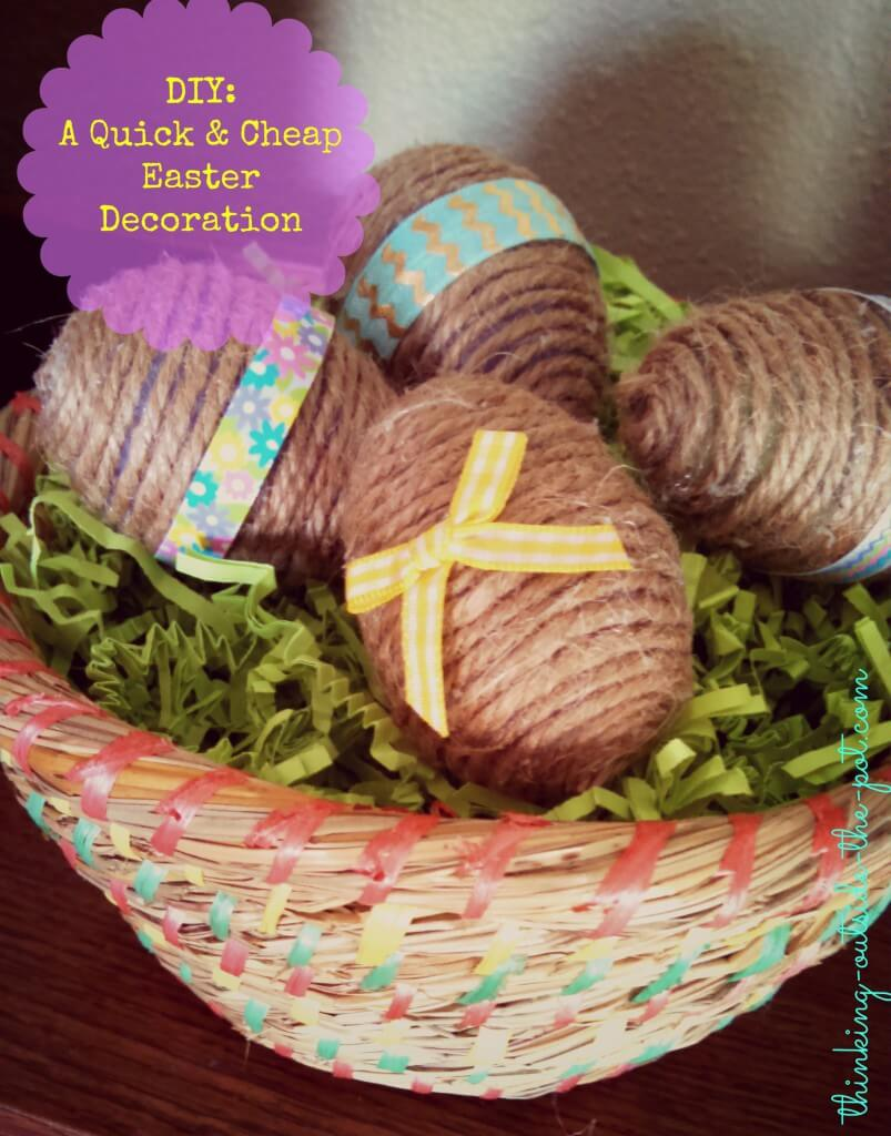 Ball & Twine Easter Egg Basket