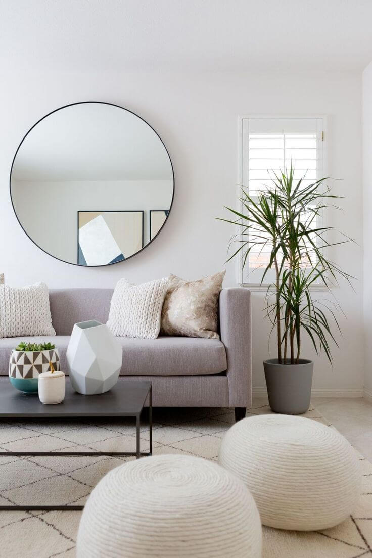 20 Lovely Decor Ideas for Adding Impact Above The Sofa
