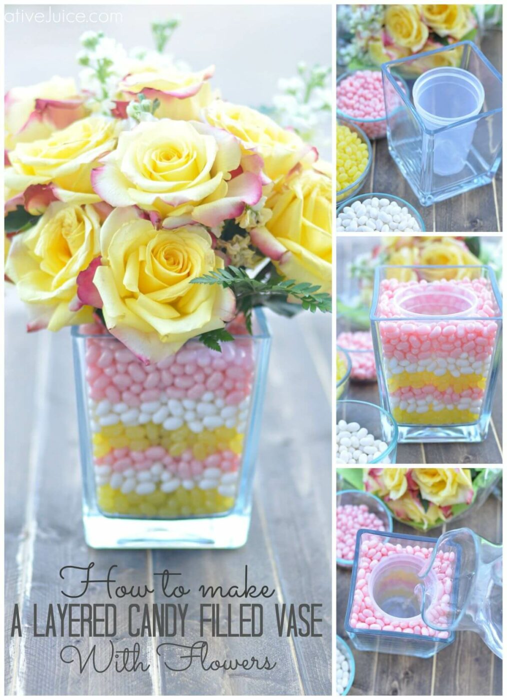 Springtime Sweets: A Bouquet Candy Dish