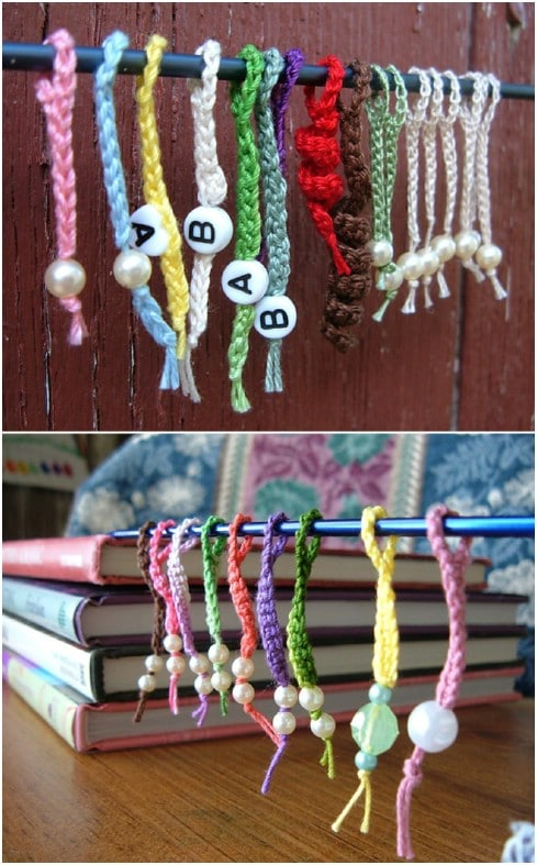 Crocheted Knitting Stitch Markers