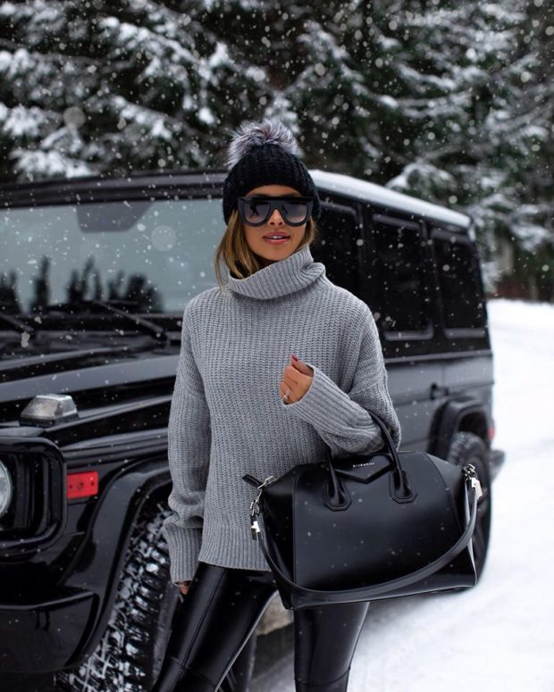 Cute Outfits You Can Actually Wear in the Snow (Part 2)
